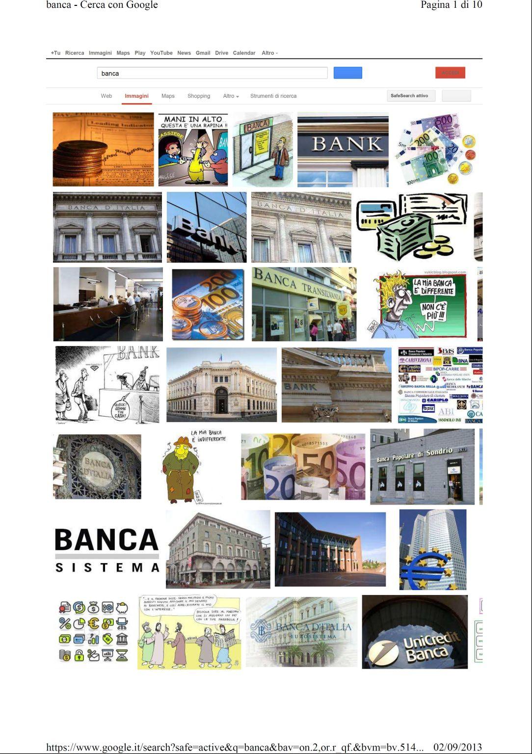 google banca immagini